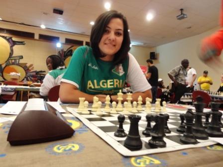 IM Amina of Algeria.