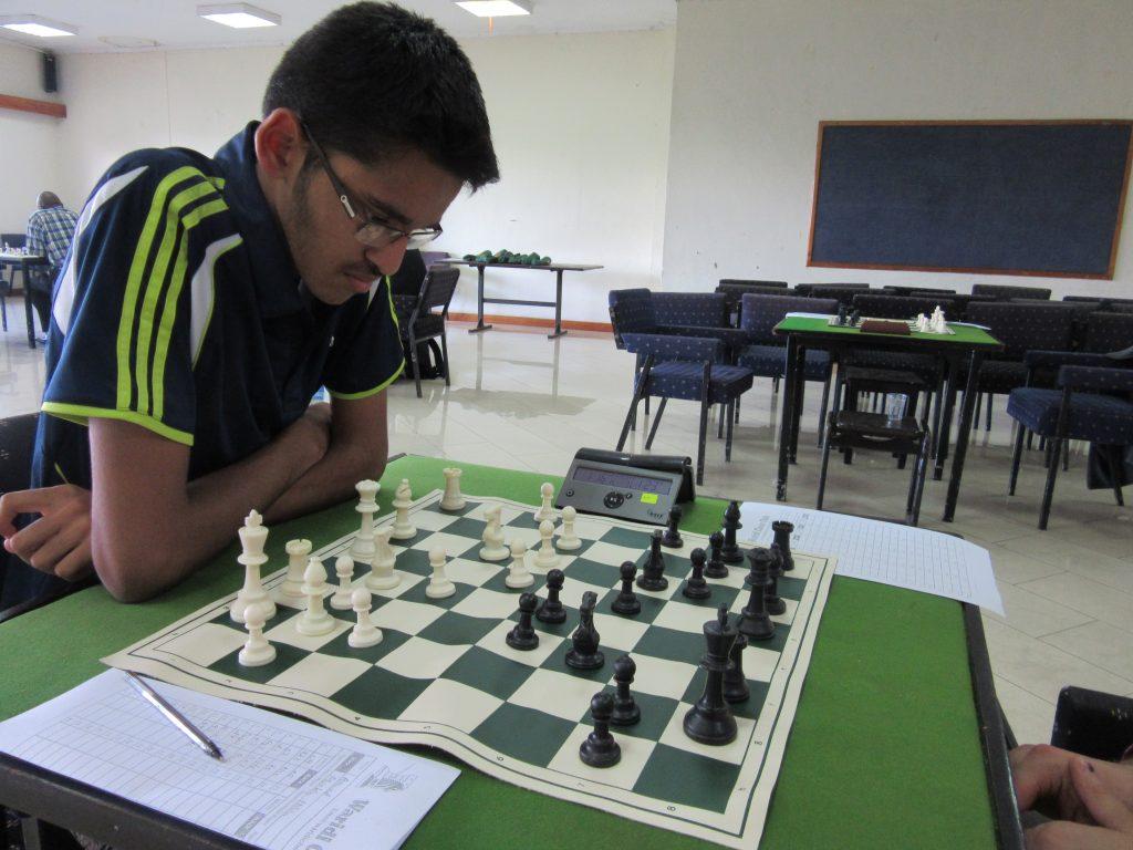 Aravind Vengarai in action.
