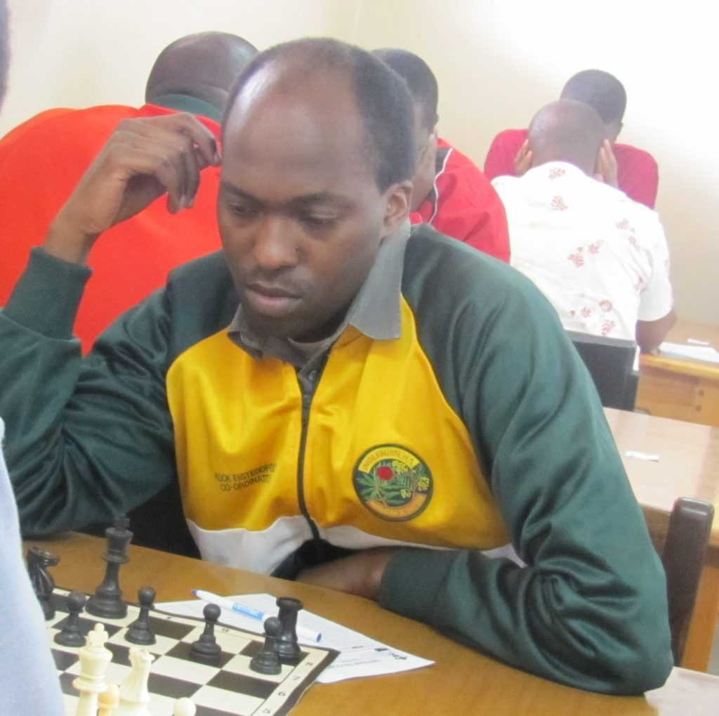 Coach Moses Andiwoh during the 2015 Daystar Open.