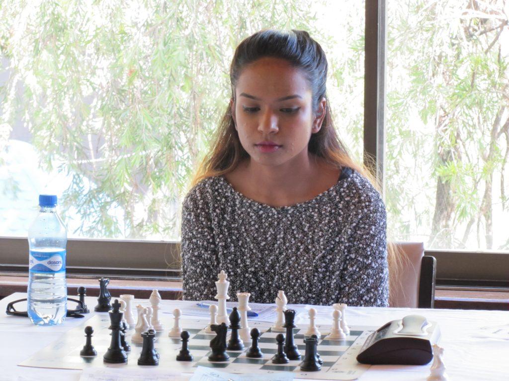 Sanjana Deshpande in a recent tournament photo.