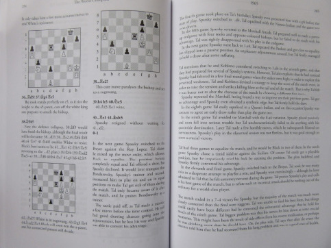 Sample pages from Tibor's book.