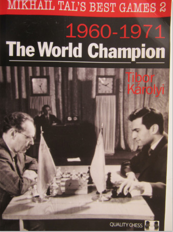 Front cover of the book - Mikhail Tal's Best Games 2.