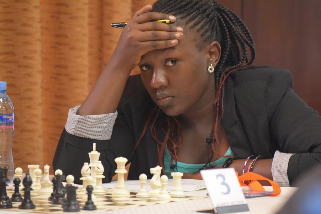 Joyce Nyaruai of Kenya. (photo by CSB Photography of Dar es Salaam)