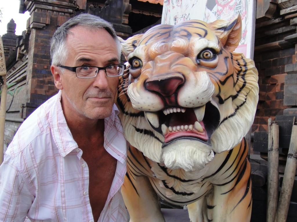 The 1994 Kenya National Chess Champion Lothar Nikolaiczuk - 'Eye of the Tiger'.