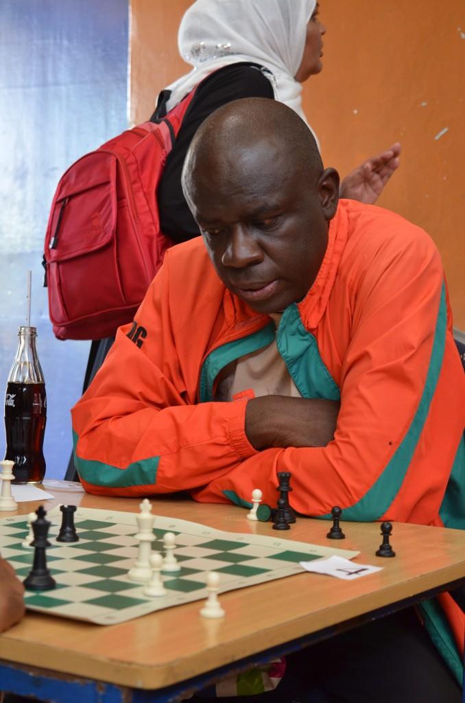 CM John Mukabi in action during the 2016 Kenya Open. Photo credit Kim Bhari.