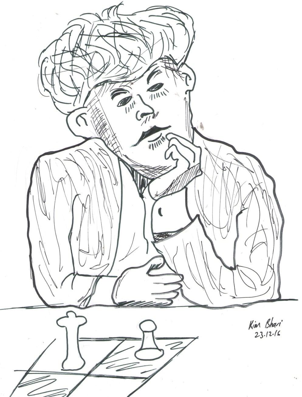 chess caricature kenya chess masala