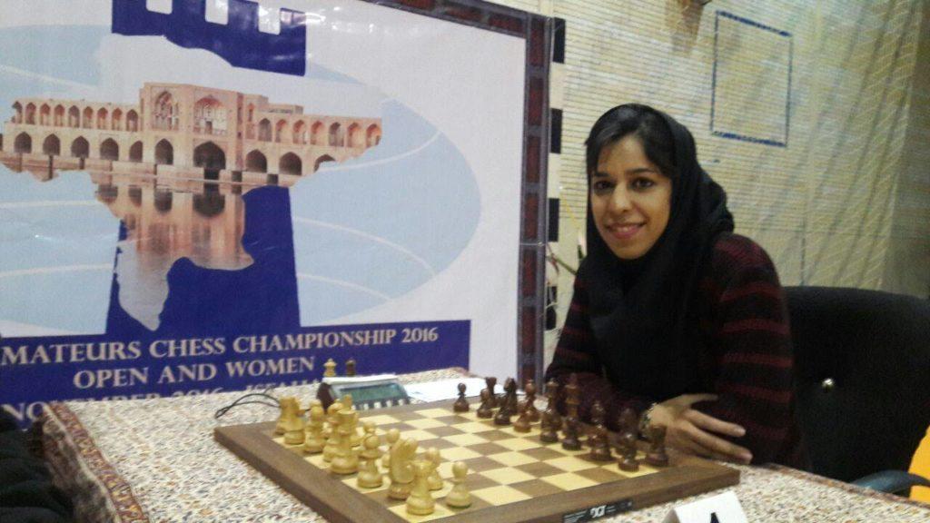 Shohreh Bayat as a player.