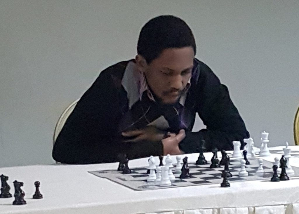 Ganza Kevin (President of Rwanda Chess Federation).