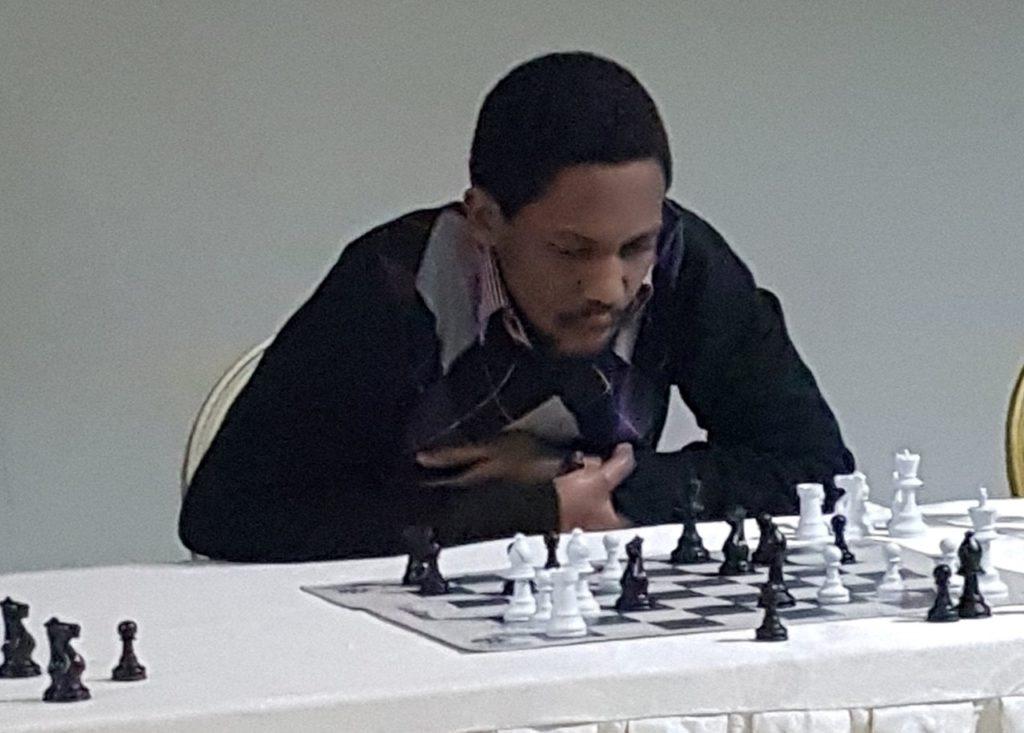 Ganza Kevin (President of Rwanda Chess Federation).