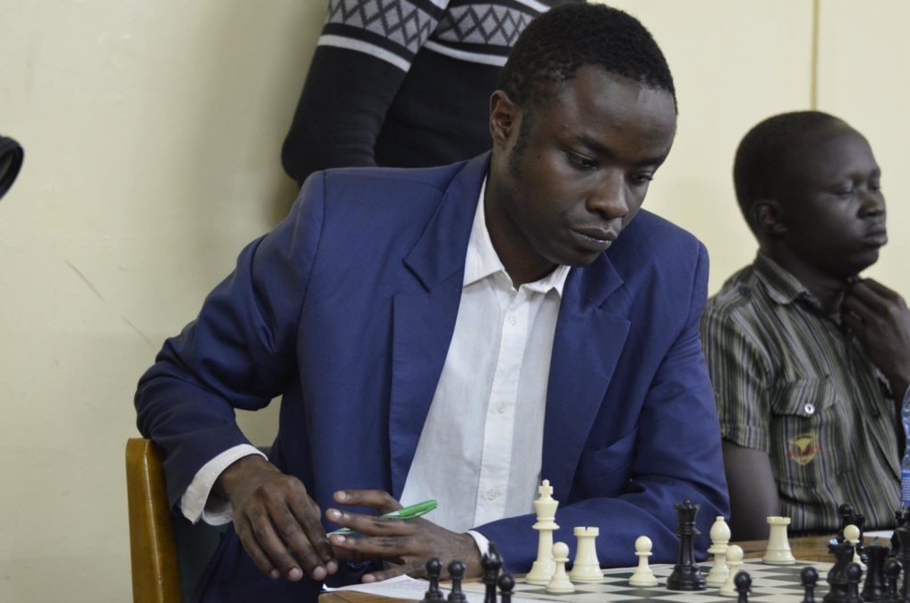 Joseph Methu on his way to winning the 7th edition of the Capablanca Cup in May 2017.