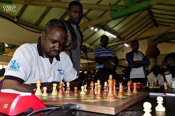 Action from the Uganda Open