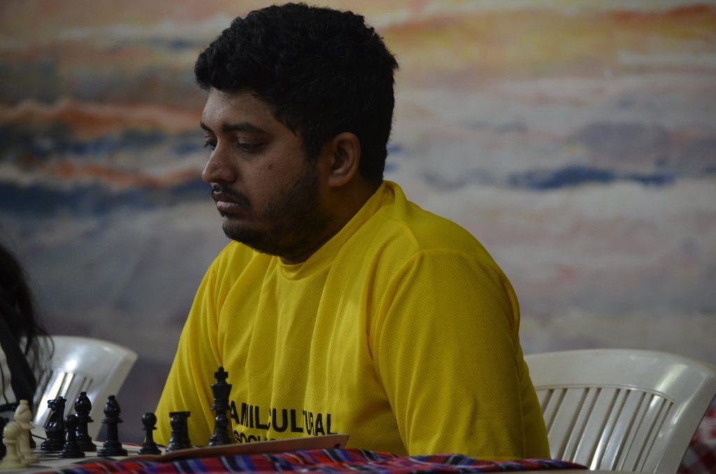 Vasanth Ramesh in action.