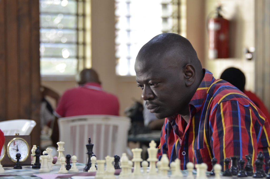 James Gwada in action.