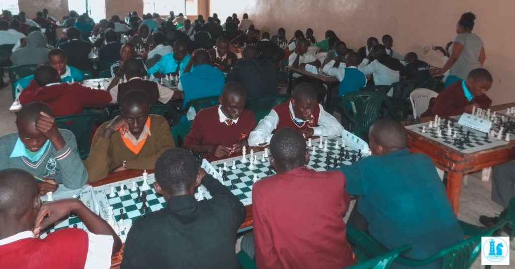The playing hall. Photo by Eastmond Mwenda from Lighthouse Chess Club.