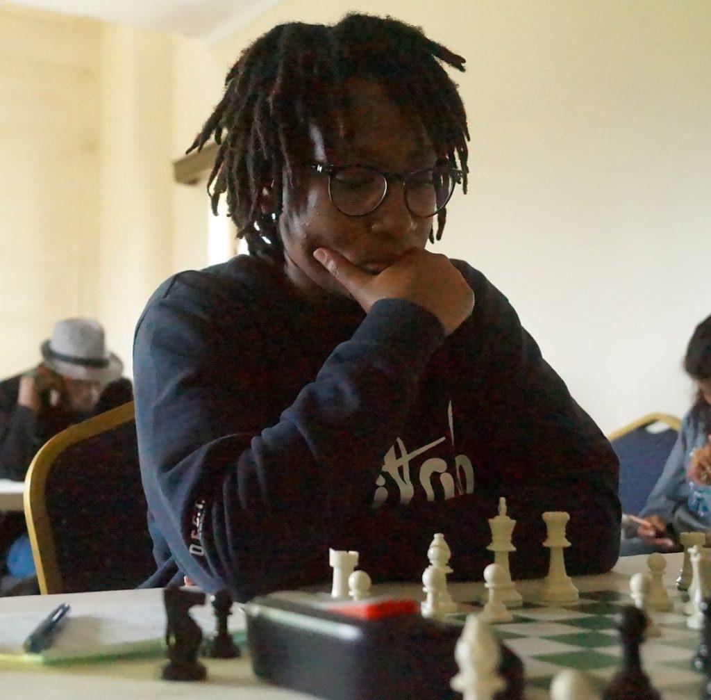 Lucy Wanjiru in action.