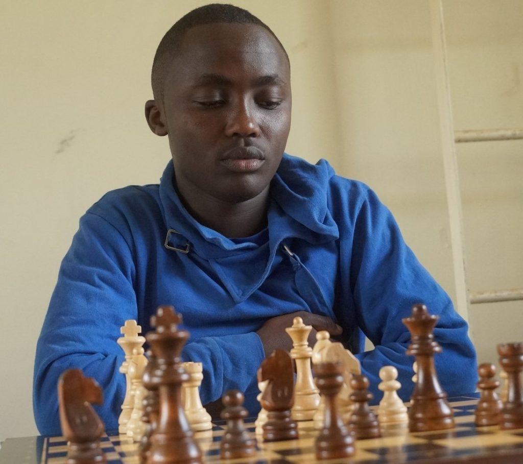 James Kabui in action.