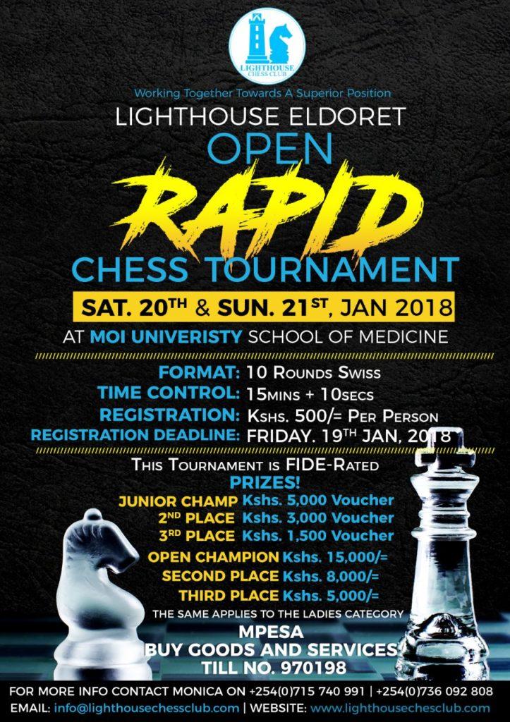 Poster of the Eldoret Open.