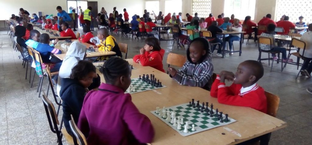 Photo from the Lasier Hill Academy Youth Chess Tournament.