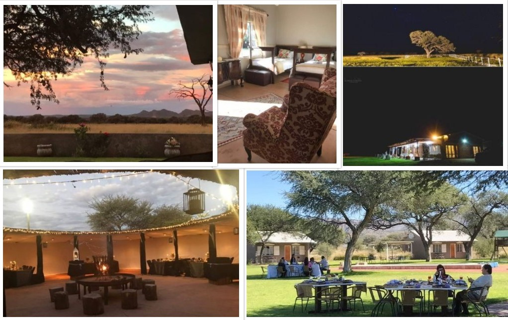 Venue of the Namibia Open - Out of Nature Country Lodge.