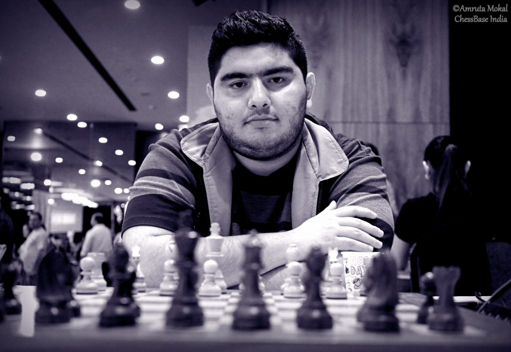 Crown Prince of the Chess World - GM Parham Maghsoodloo of Iran during the World Junior Championship.Photo credit Amruta Mokal of Chessbase India.