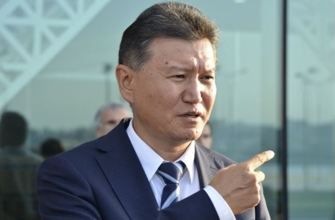 Kirsan Ilyumzhinov during the 2016 Baku Olympiad.