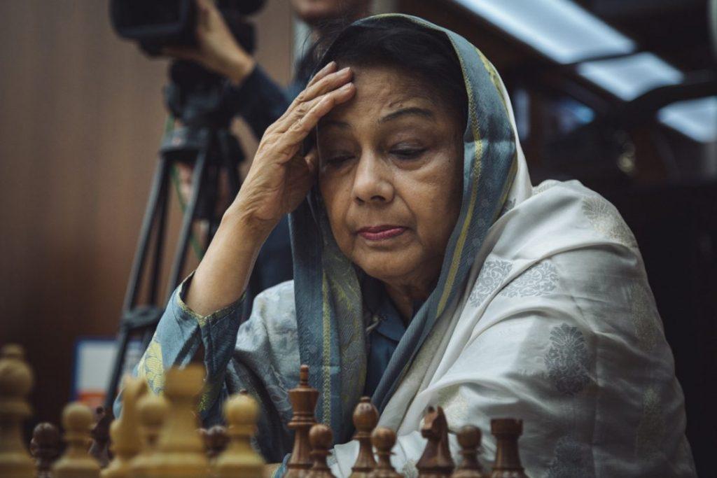 WIM Rani Hamid of Bangladesh. Photo credit https://ugra2018.fide.com.
