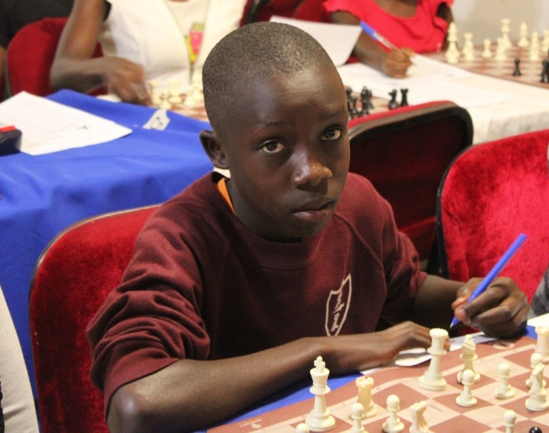 Victor Kanyike - another strong youngster from Uganda.
