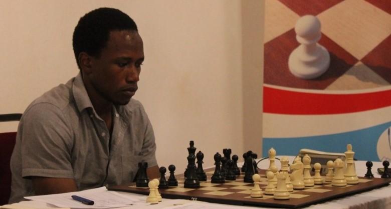 Patrick Kawuma in action.