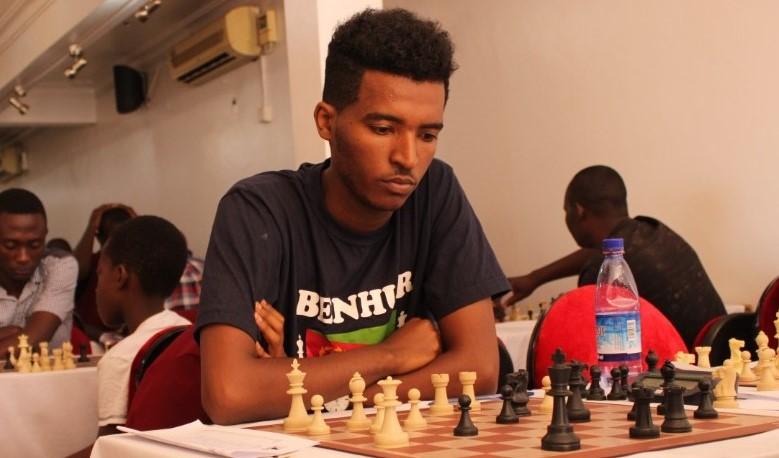 Benhur Mehari from Eritrea.