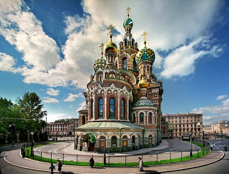 The Church of the Savior on Spilled Blood. http://www.saint-petersburg.com.