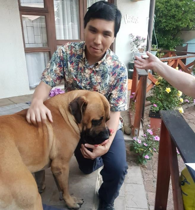 GM So with Bob the 2800 boerboel!