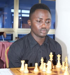 James Kabui one of Kenya's most promising youngster.