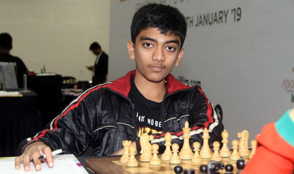 D Gukesh of India. Current holder of the second youngest GM in the world.