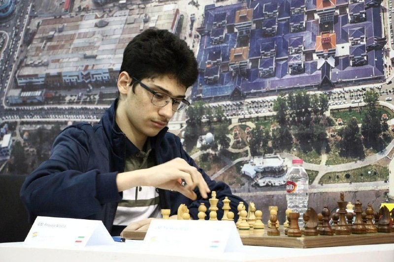 Iranian super talent Alireza Firouzja was the only undefeated player, and he gained +17.2 rating points.