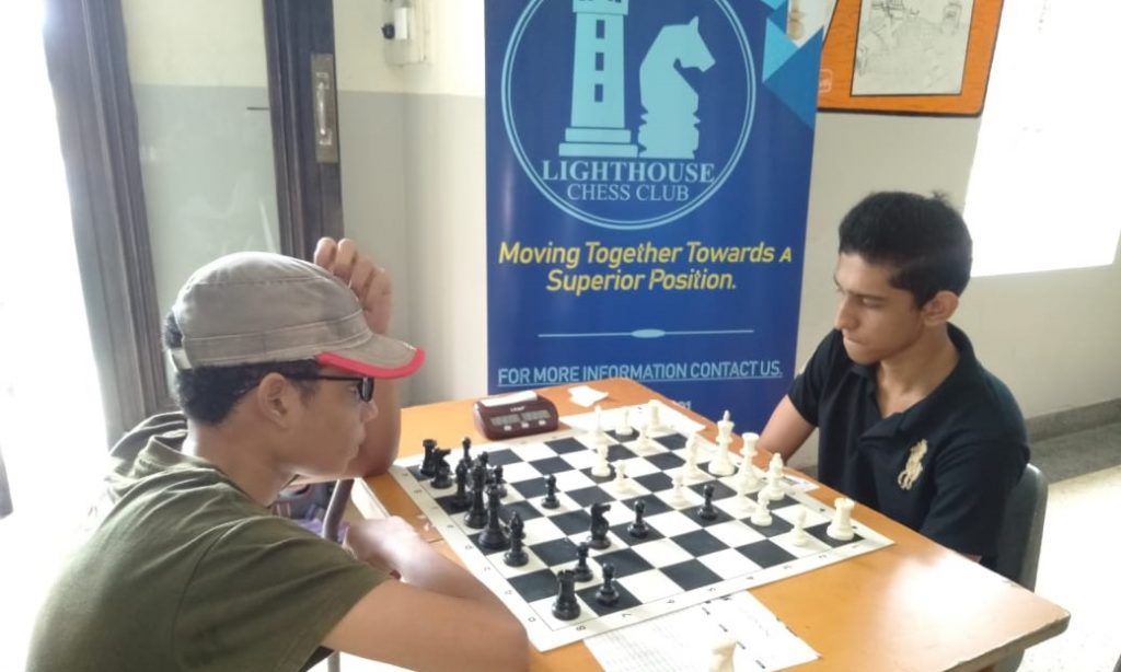 Lighthouse Inter-Schools Chess Tournament.  Photo from the event.