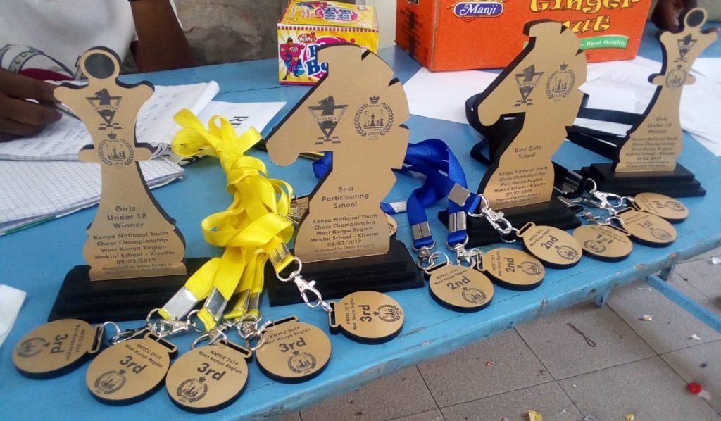 Trophies & medals on offer.