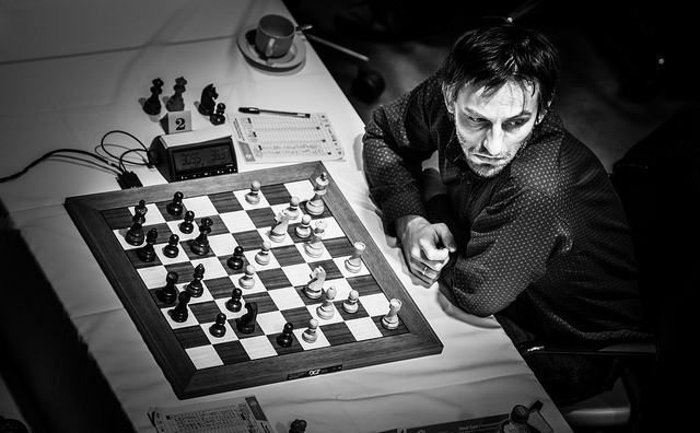 Alexander Grischuk of Russia. Photo credit David Llada.