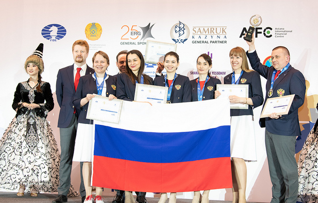 Team Russia. Photo credit David Llada.