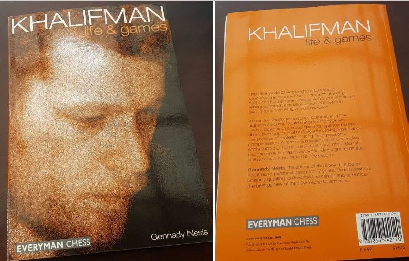 Cover of the book - GM Khalifman life & games.