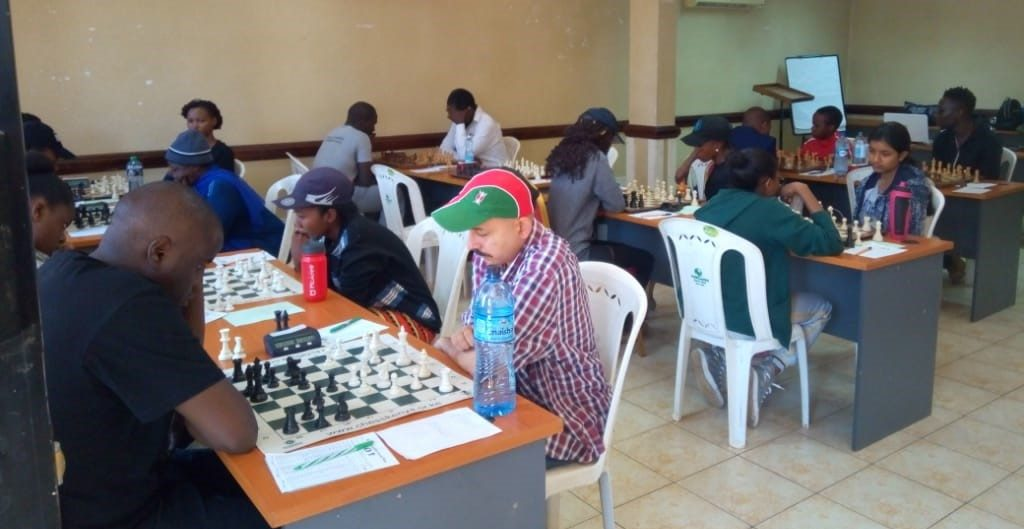 Section of the playing hall All Africa Games Finals. Photo credit FA James Mwangi.