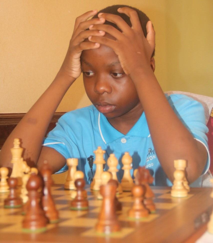 CM Aguda Lwanga - Kenya's 12 year old sensation. Photo credit FA James Mwangi.