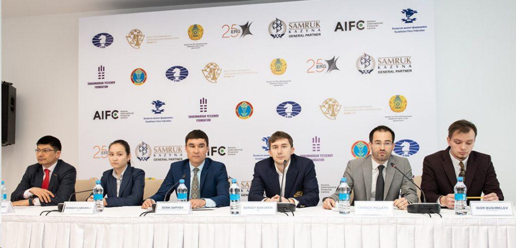 Press conference. Photo credit David Llada.