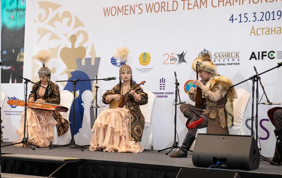 Musicians perform at the opening ceremony. Photo credit David Llada.