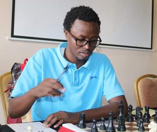 Akello Atwoli in action during the Masaku Open held in March 2019 which he won. Photo credit Anthony Kionga.