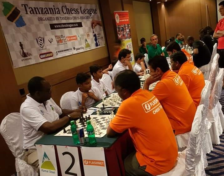 Photo from the Tanzania Chess League.