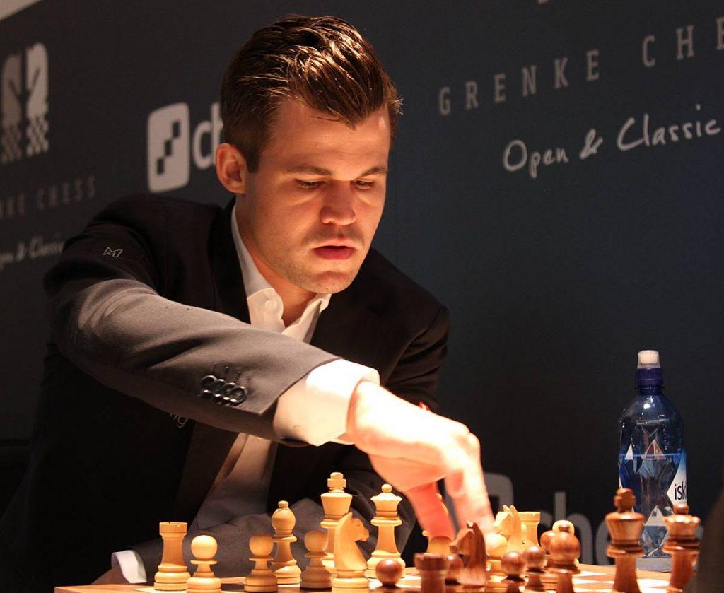 World Champion Magnus Carlsen. Photo credit Georgios Souleidis.