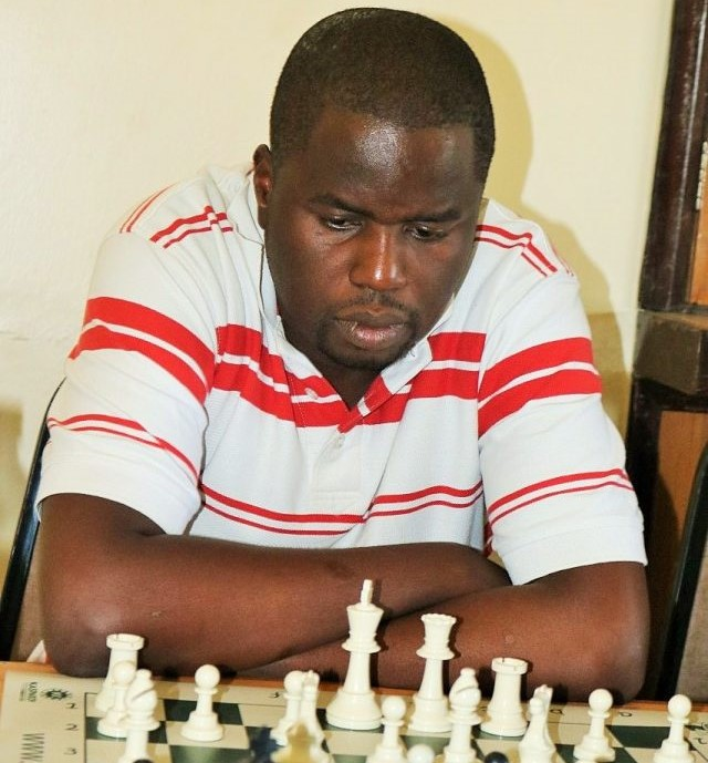 Amos Simiyu in action during the AAG Final phase earlier this year.  Photo credit James Mwangi.