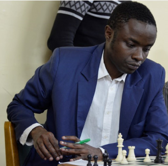 Joseph Methu seen here in the 2017 Capablanca Cup.  Photo credit Kim Bhari.