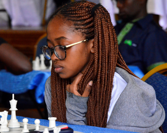 Glenda Madelta who is making her maiden appearance for the Kenya Olympiad Team. Photo credit Kim Bhari.