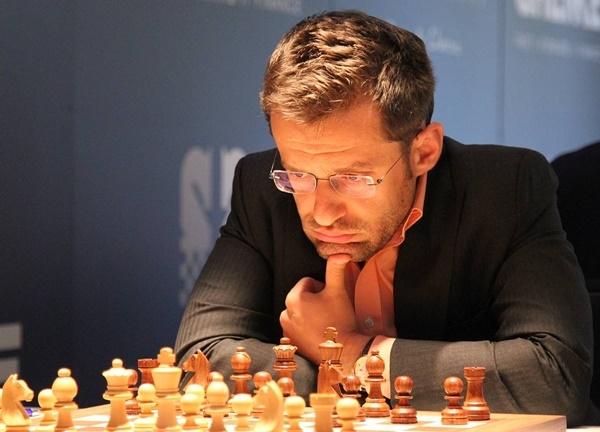 Levon Aronian of Armenia. Photo credit Georgios Souleidis.